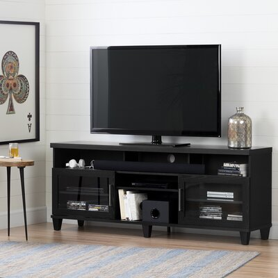 Adrian 70.3 TV Stand Color: Black Oak