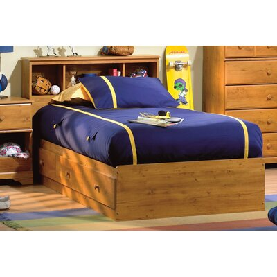 Little Treasures Twin Mates Bed and Headboard Set