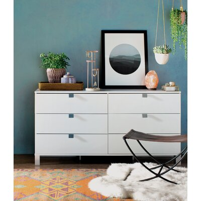 Sparkling 6 Drawer Dresser