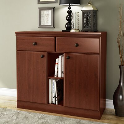 Morgan Storage Console Server Finish: Royal Cherry