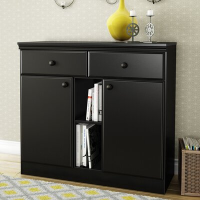 Morgan Storage Console Server Color: Pure Black