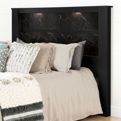 Gloria King Panel Headboard with Lights