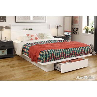 Holland Full/Queen Platform Bed Color: Pure White