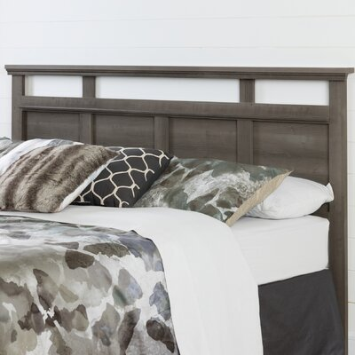 Versa King Panel Headboard Color: Gray Maple