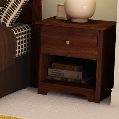 Vito 1 Drawer Nightstand Color: Sumptuous Cherry