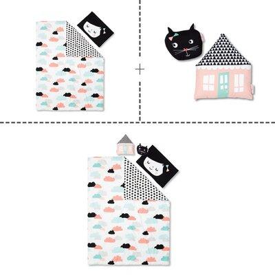 DreamIt Night Garden 4 Piece Twin Reversible Comforter Set