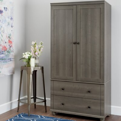 Hopedale Armoire Finish: Gray Maple