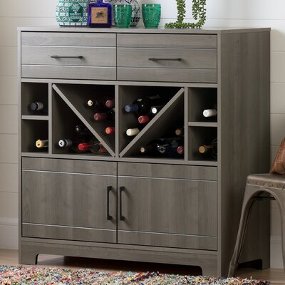 Vietti Bar Cabinet Finish: Gray Maple