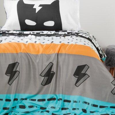 DreamIt Superheroes Twin Reversible Comforter Set