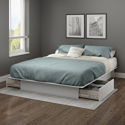 Step One Full/Queen Platform Bed Finish: Soft Gray