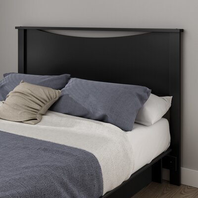 Gramercy Full/Queen Panel Headboard Color: Pure Black