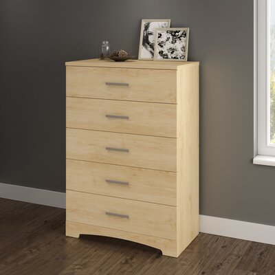 Gramercy 5 Drawer Chest Color: Natural Maple