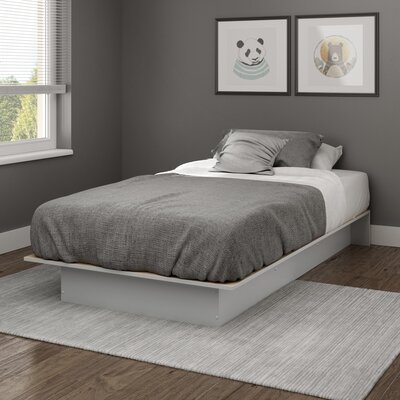 Libra Twin Platform Bed Finish: Soft Gray