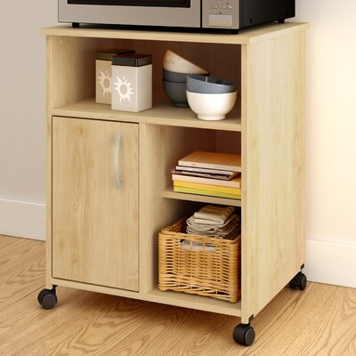 Fiesta Microwave Cart Base Finish: Natural Maple