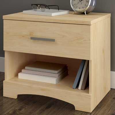 Gramercy 1 Drawer Nightstand Finish: Natural Maple