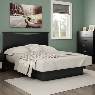Gramercy Full/Queen Platform Bed Finish: Pure Black