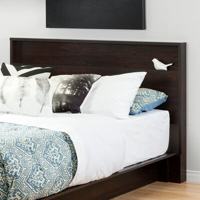 Holland Full/Queen Panel Headboard Color: Havana