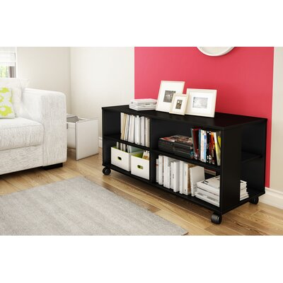 Jambory 46 Tv Stand Color: Pure Black