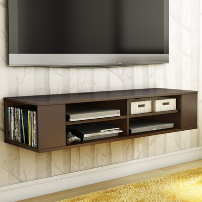 City Life 48 Floating TV Stand Color: Chocolate