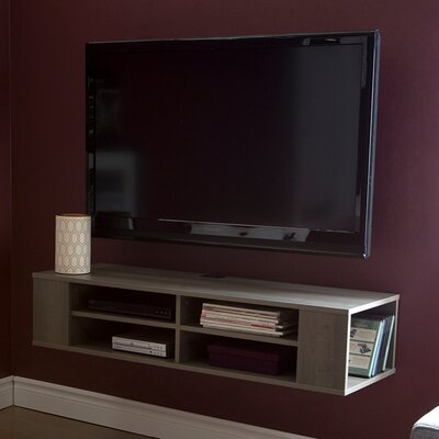 City Life 48 Floating TV Stand Color: Gray Maple
