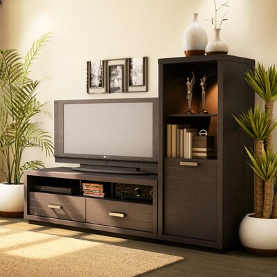 Skyline 54 TV Stand Color: Chocolate