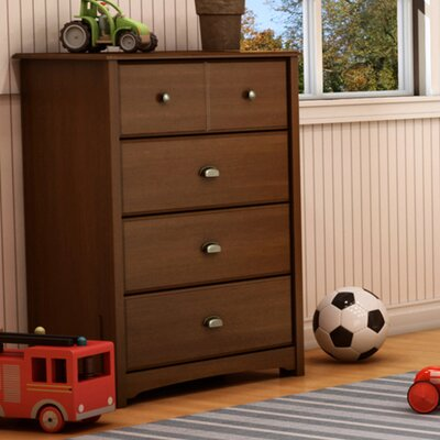 4 Drawer Chest Color: Sumptuous Cherry