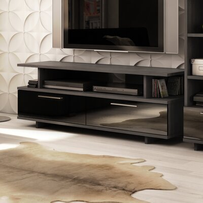 Reflekt 60 TV Stand Color: Gray Oak