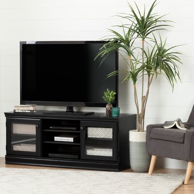 Haston 53.5 TV Stand Color: Black Oak