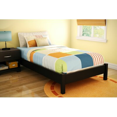 Cheap Step One Twin Platform Bed in Chocolate (TH2318)