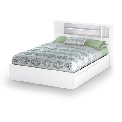 Vito Storage Platform Bed Color: Pure White