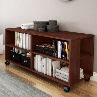 Jambory 46 TV Stand Color: Royal Cherry