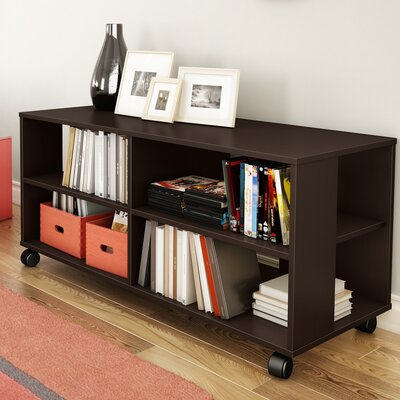 Jambory 46 TV Stand Color: Chocolate