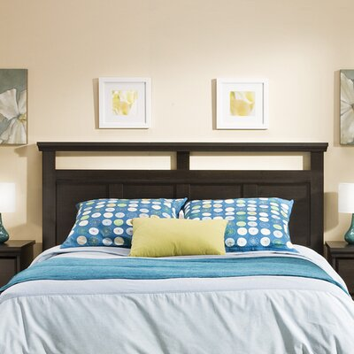Versa Panel Headboard Color: Ebony