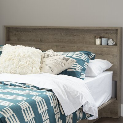Holland Full/Queen Panel Headboard Color: Weathered Oak