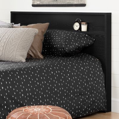 Holland Queen Panel Headboard Color: Black Oak