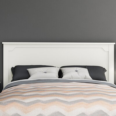 Fusion Panel Headboard Color: Pure White