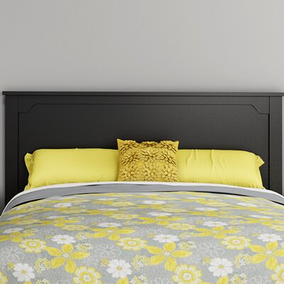 Fusion Panel Headboard Color: Pure Black