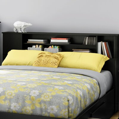 Fusion Bookcase Headboard Color: Pure Black