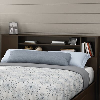 Fusion Bookcase Headboard Color: Chocolate