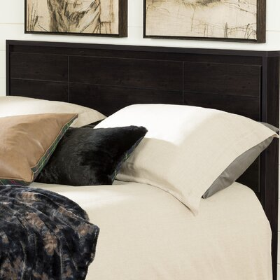 Gravity Queen Panel Headboard Color: Ebony