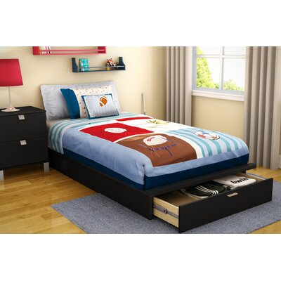 "Furniture rental Twin 39"" Platform Bed with Dra..."