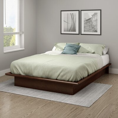 Step One Platform Bed Color: Sumptuous Cherry, Size: Full