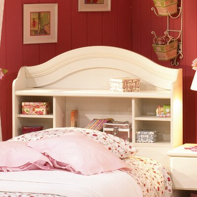 (headboards) Summer Breeze Twin Bookcase Headboard