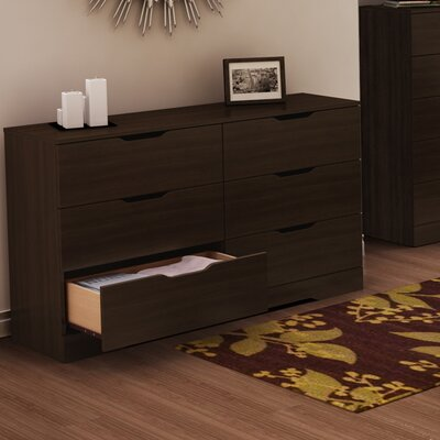 In store financing Holland 6 Drawer Standard Dresser...
