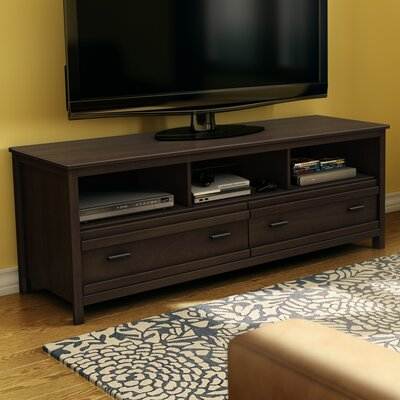 Exhibit 60 TV Stand Color: Chocolate