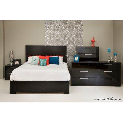 Mikka Queen Platform Configurable Bedroom Set