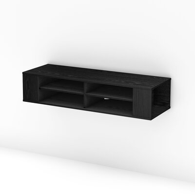 City Life TV Stand Finish: Black Oak
