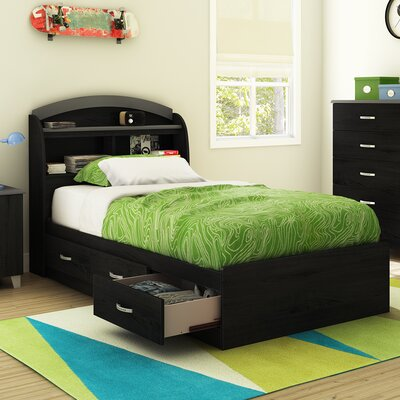 Lazer Twin Mates Bed with Storage