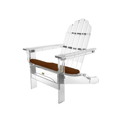 Trex Outdoor Sunbrella Seat Cushion Fabric: Chili
