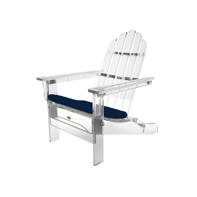 Trex Outdoor Sunbrella Seat Cushion Fabric: Navy